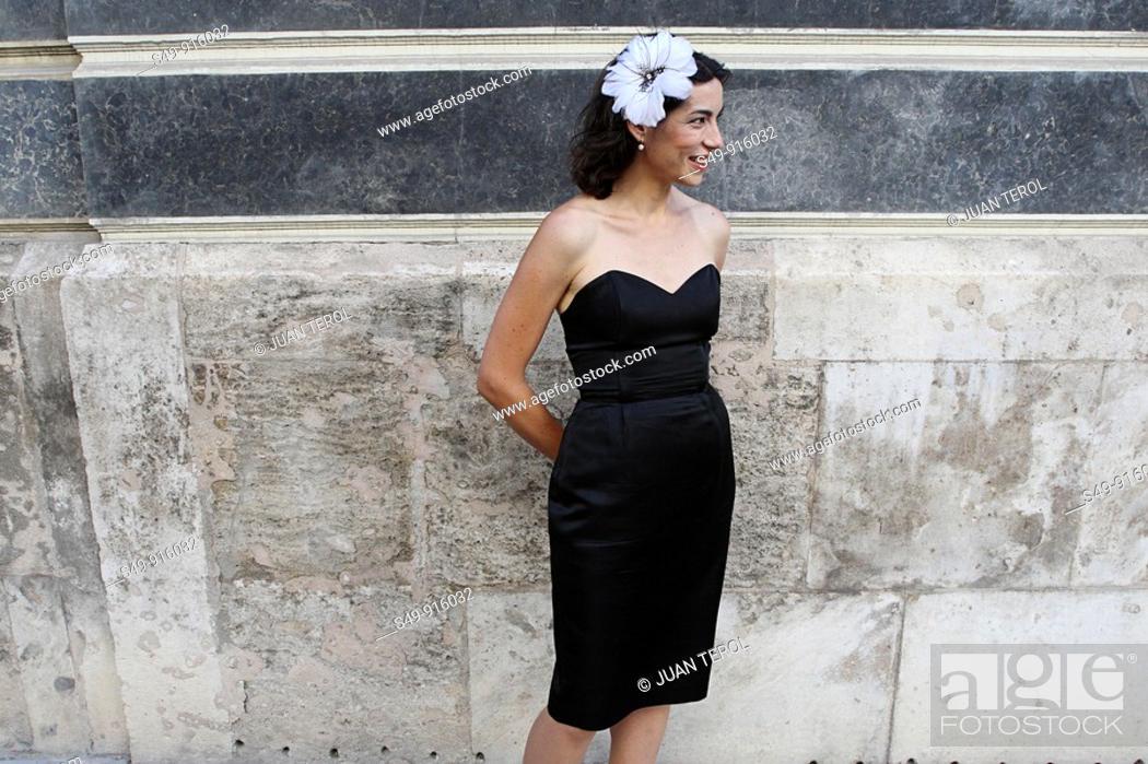 Stock Photo: an elegant woman portrait.