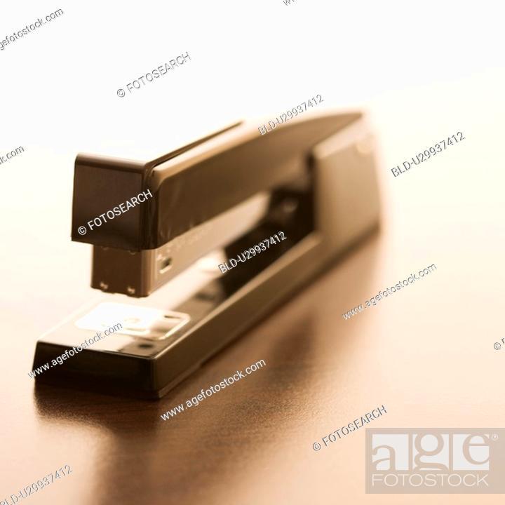 Stock Photo: Still life of stapler.