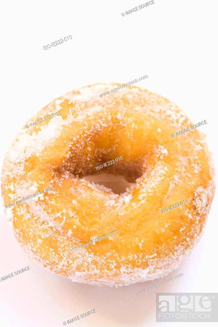 Stock Photo: Doughnut.