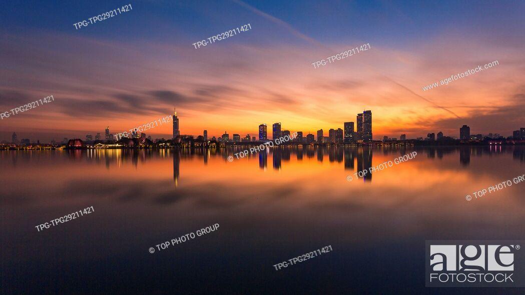 Imagen: Xuanwu Lake; Nanjing; Jiangsu.China.