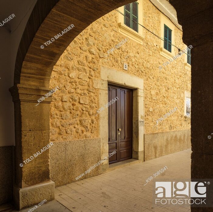 Stock Photo: Rectoria, Consell, Mallorca, balearic islands, Spain.