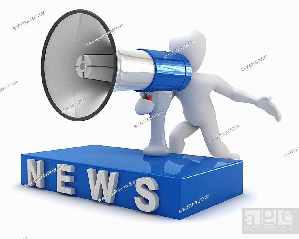 Stock Photo: News.