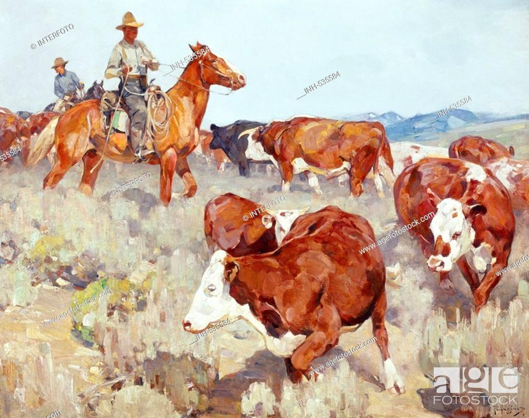 Geography Travel Usa People Cowboys In The Sagebrush