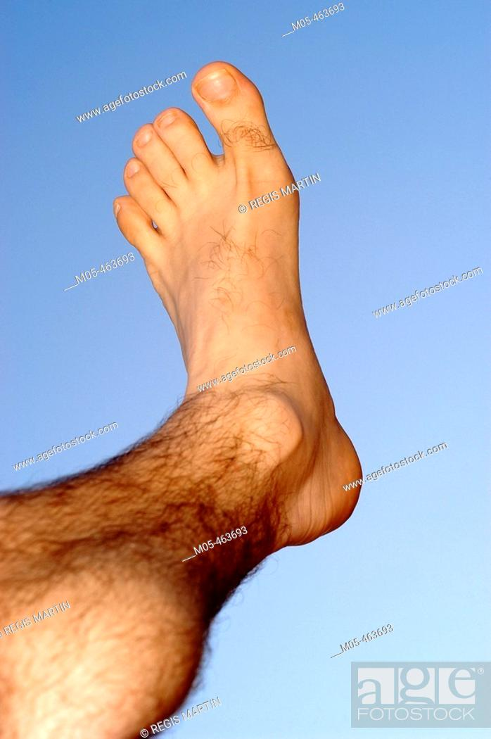 Stock Photo: Foot.