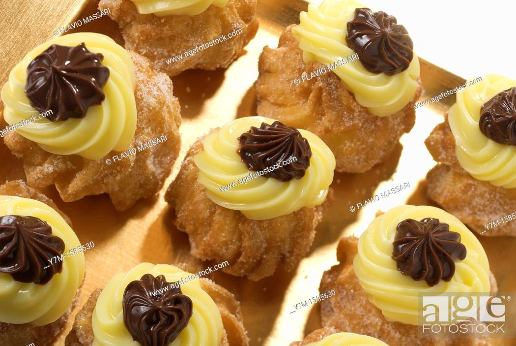 Stock Photo: zeppola leccese.