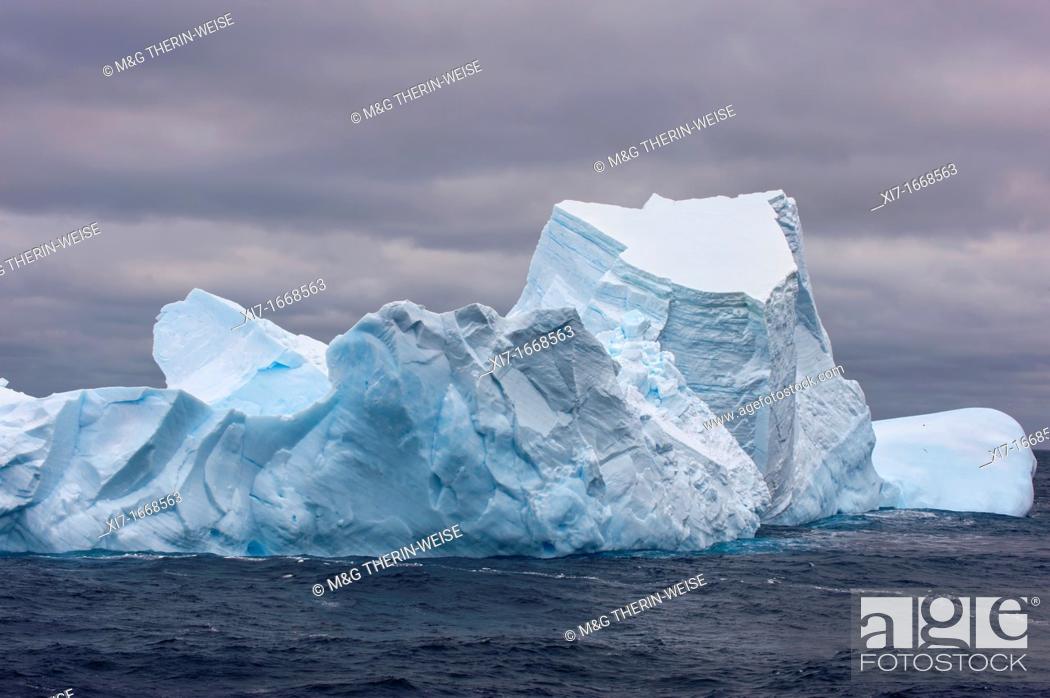 Imagen: South Orkney Islands, Icebergs, Southern ocean.