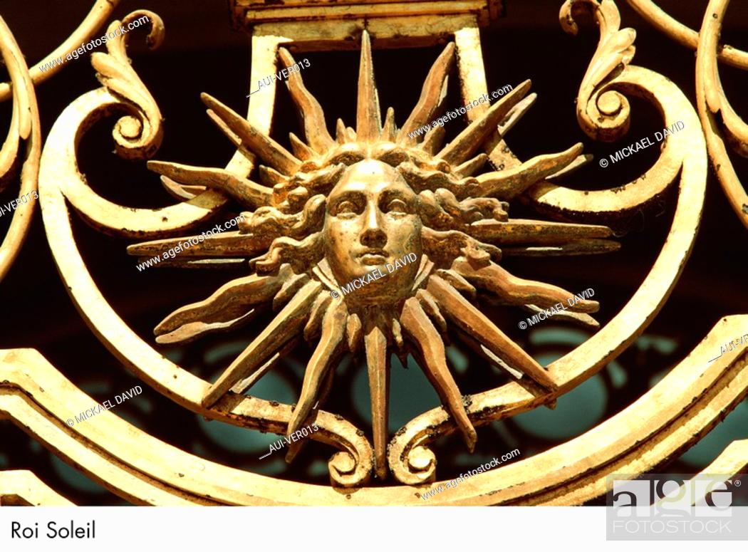 Stock Photo: Palace of Versailles - Roi Soleil.