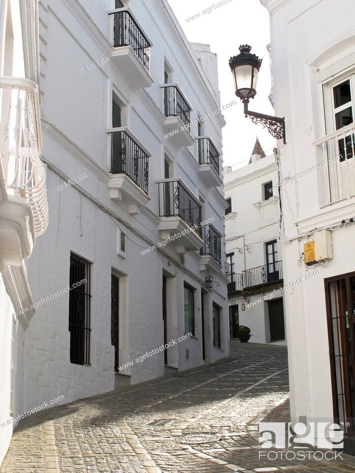 Stock Photo: Vejer de la Frontera. Cadiz. Andalusia. Spain.
