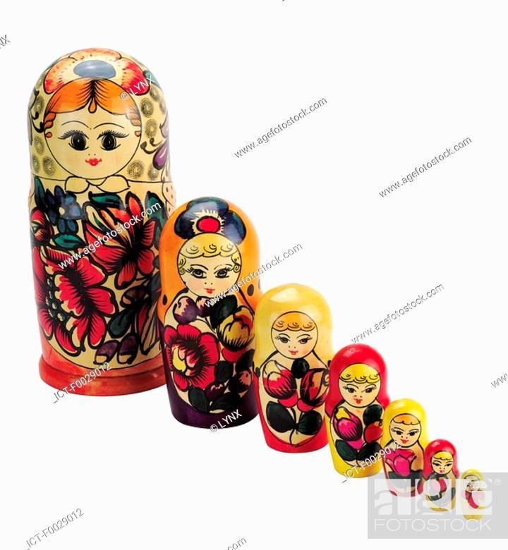 Stock Photo: World symbols: Russian doll.
