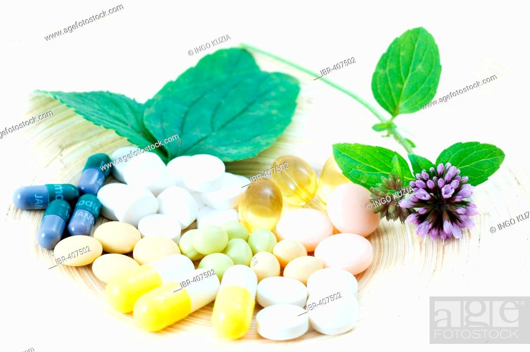 Vegetable cures, Phytopharmaka  Medicines, pills, tablets and caps
