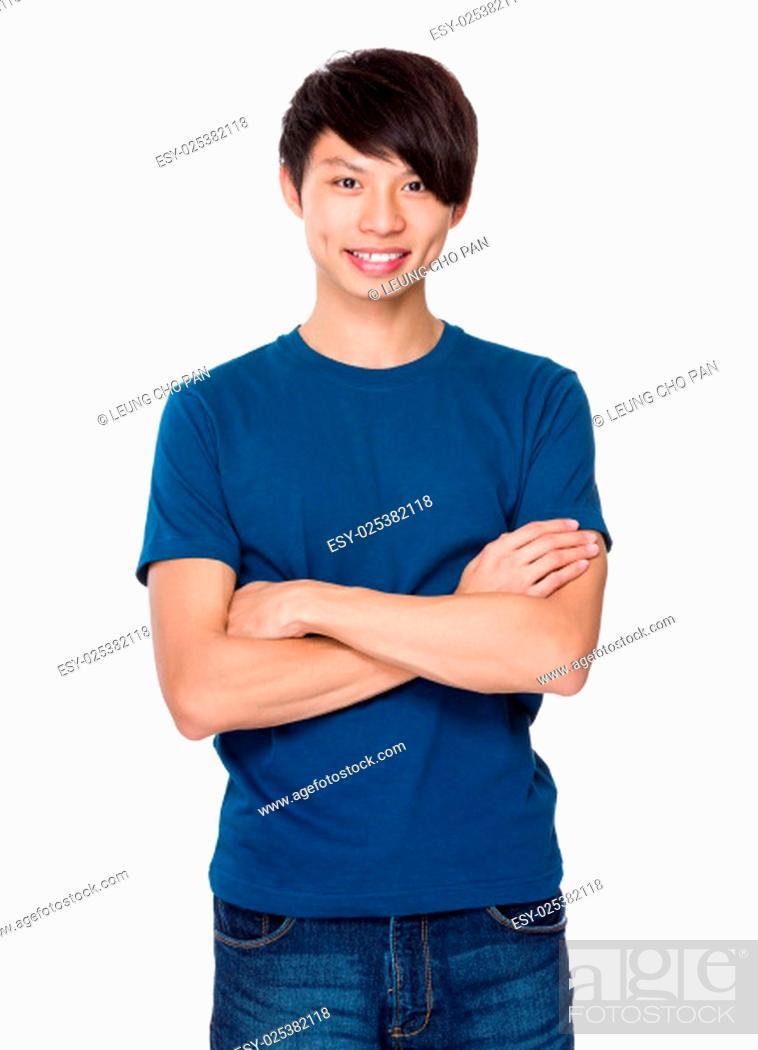 Stock Photo: Young Man portrait.