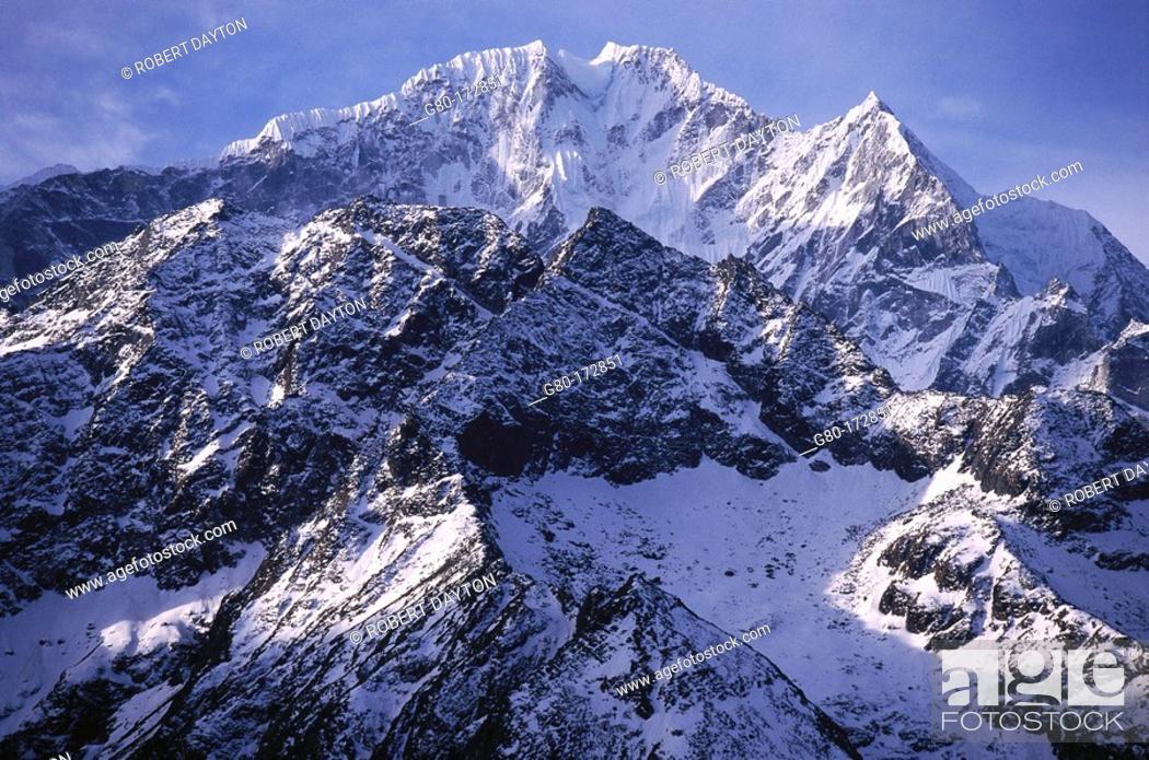 Stock Photo: Himalayas. Nepal.