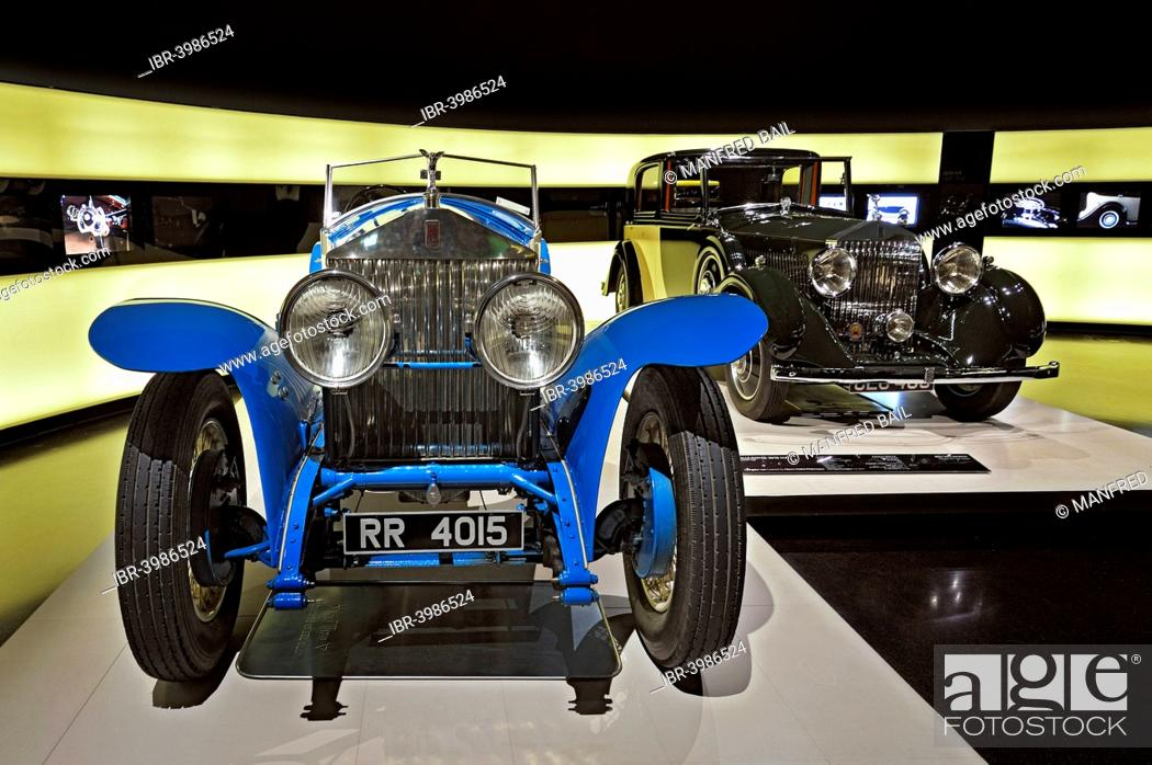 rolls royce phantom 1 from 1926 and rolls royce 20 25 h p stock photo picture and rights managed image pic ibr 3986524 agefotostock 2