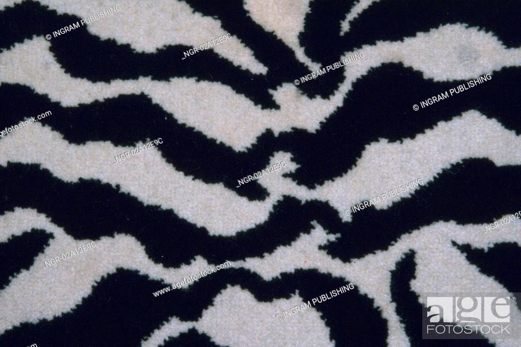 Stock Photo: Close-up of an animal print on fabric.