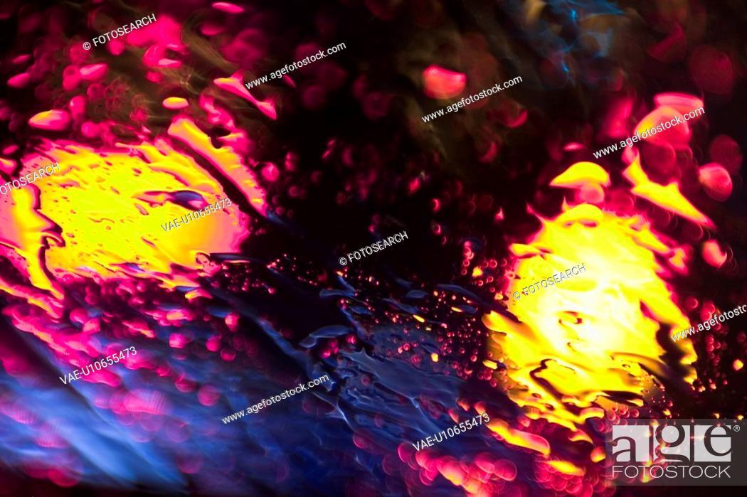 Stock Photo: surface, drops, droplets, tiny, small, driblets.