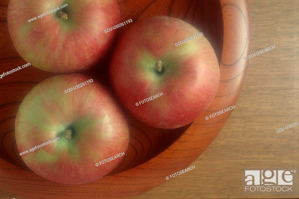Stock Photo: Bowl Of Apples.