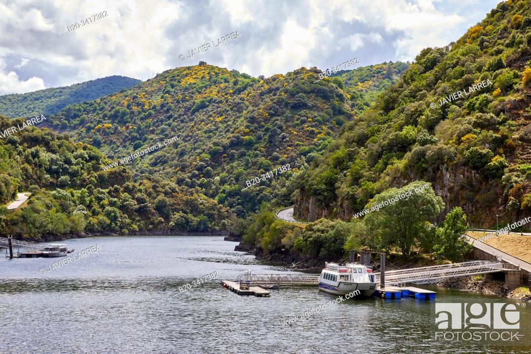 Imagen: Ribeira Sacra, Sil river canyon, Doade, Lugo, Galicia, Spain.