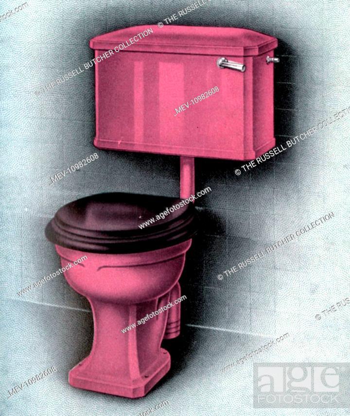 Superb Vitromant Coloured Water Closet Suite Toilet Finished Beatyapartments Chair Design Images Beatyapartmentscom