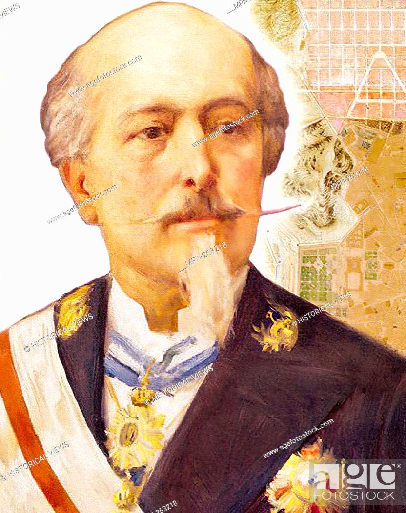 Stock Photo: Carlos María de Castro (Estepa, September 24, 1810-Madrid, November 2, 1893) architect, roads, canals and ports engineer and Spanish town planner.