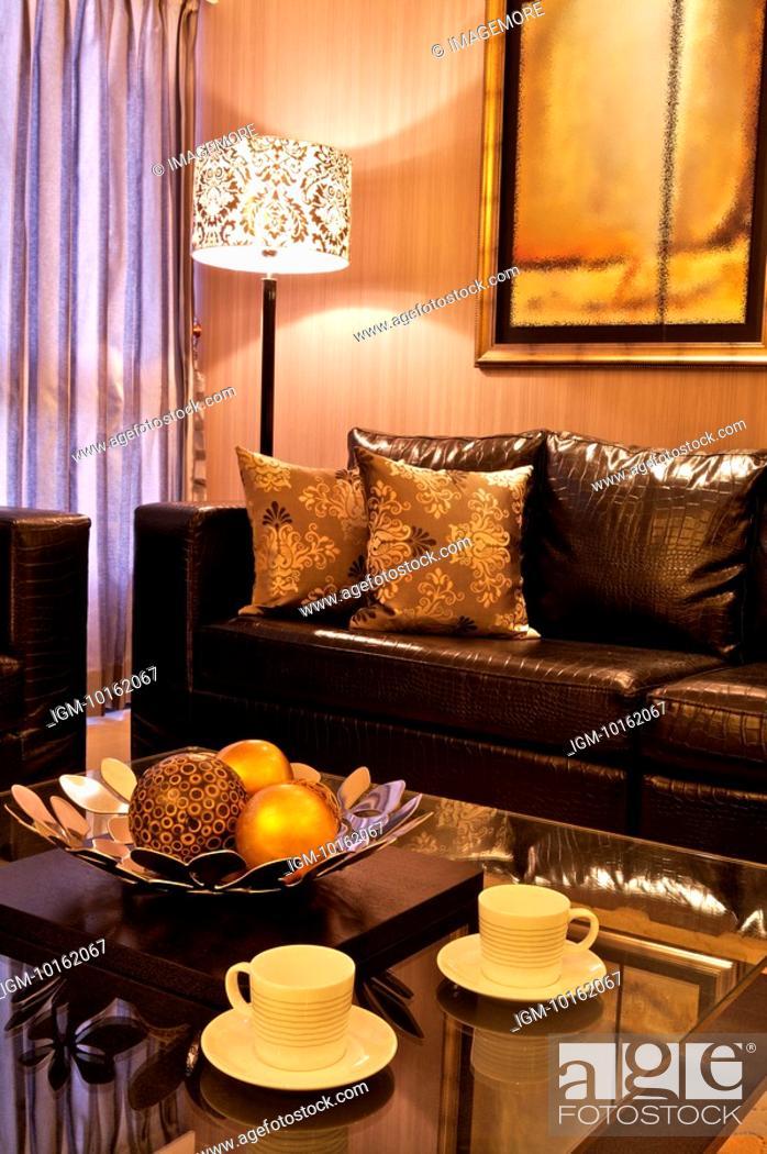 Stock Photo: Modern Interior Design - Living Room.