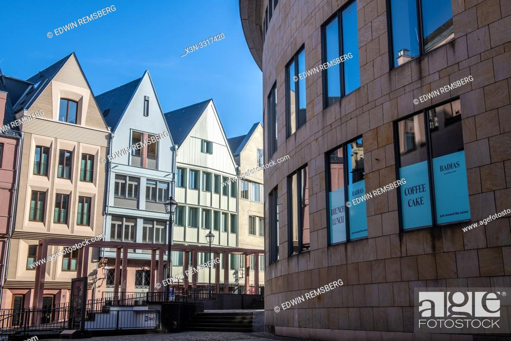 Stock Photo: Architecture in Frankfurt, Germany.