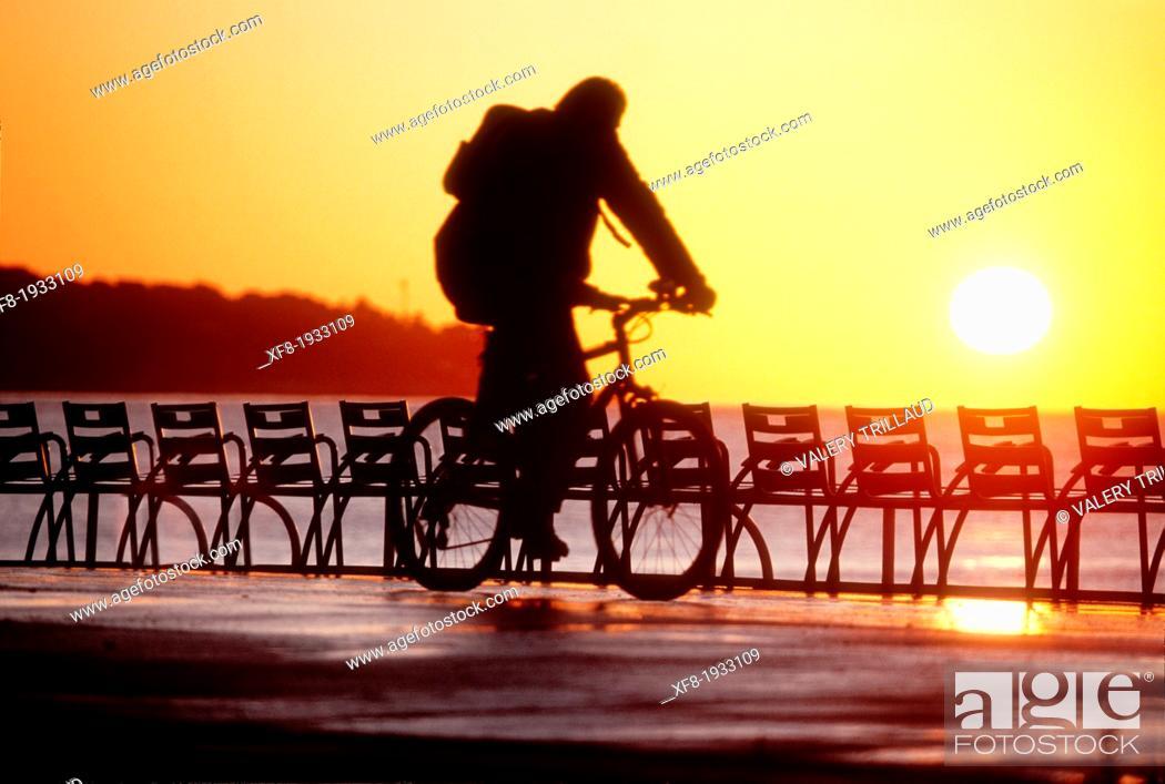 Stock Photo: Nice, Promenade des Anglais, Alpes-Maritimes, 06, French Riviera, Cote d'Azur, PACA, France.