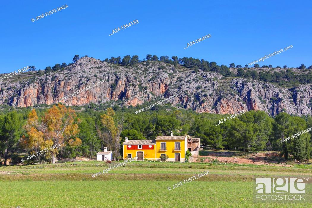 Stock Photo: Spain , Murcia Province, country side.