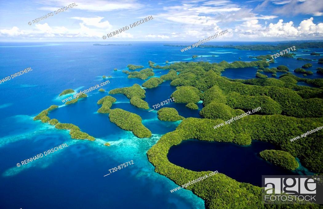 Stock Photo: Islands of Palau, Micronesia, Palau.