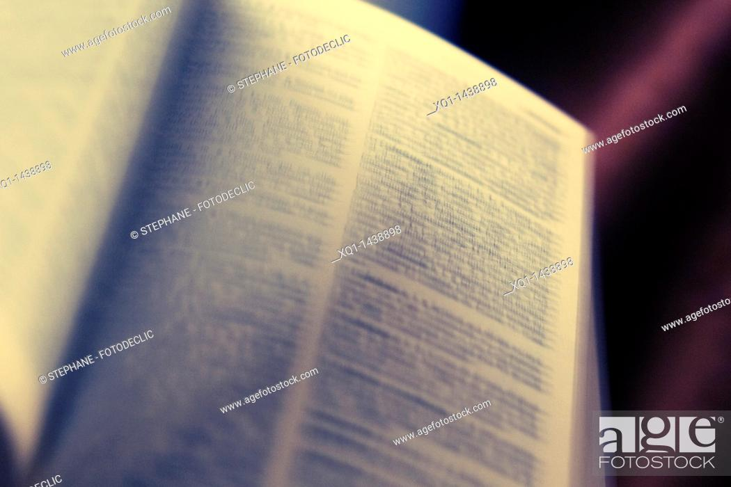 Stock Photo: Vintage book.