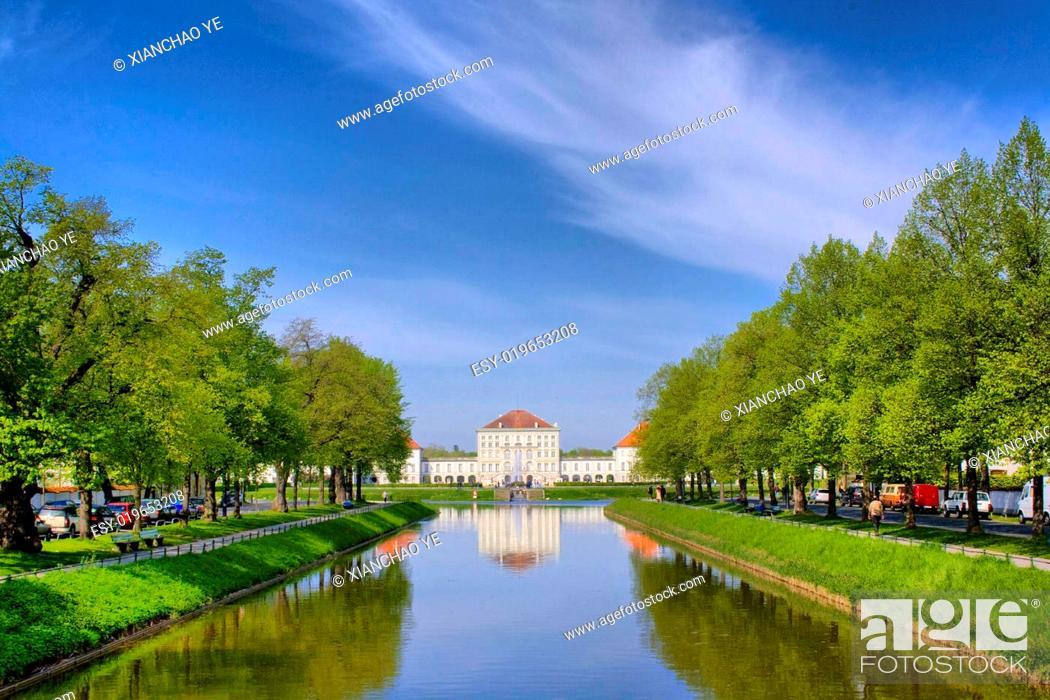 Stock Photo: Nymphenburg.