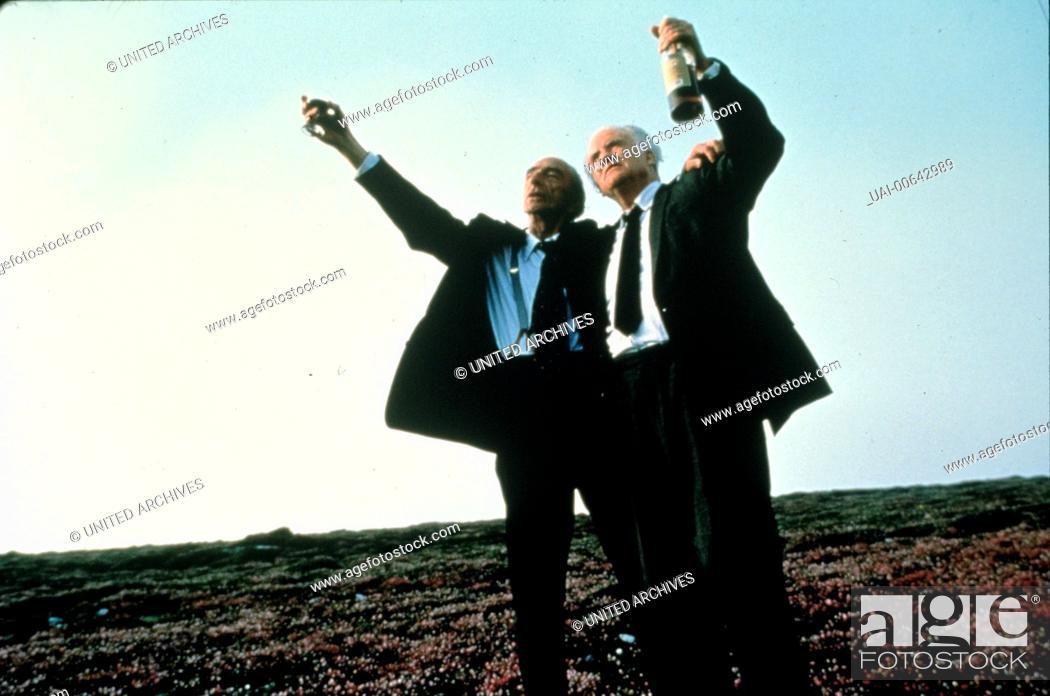Photo de stock: LANG LEBE NED DEVINE / Waking Ned IR/GB 1998 / Die beiden irischen Rentner Jackie O'Shea (IAN BANNEN) und Michael O'Sullivan (DAVID KELLY li.