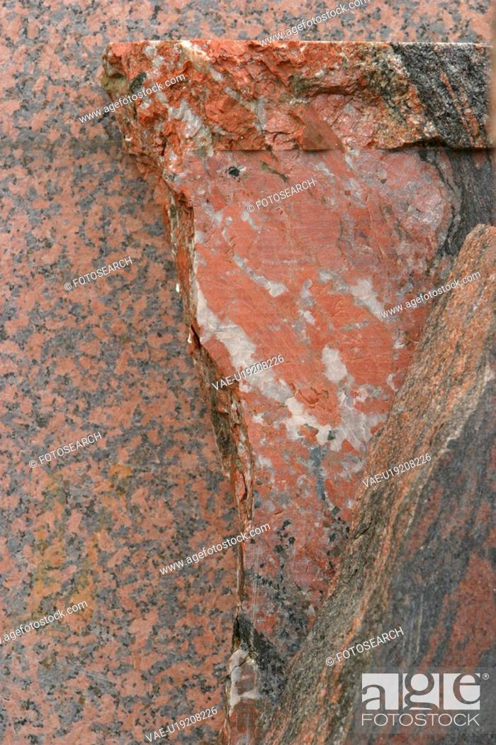 Stock Photo: brown, stone, texture, background, character.