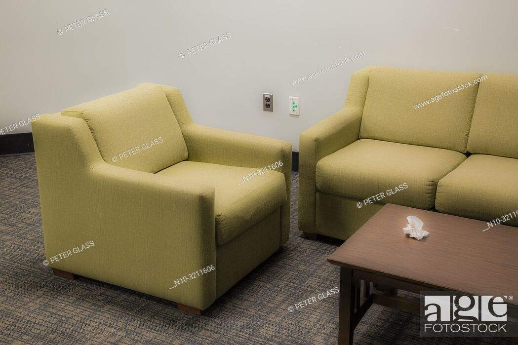 Pleasing Sofa Chair And A Table With Crumpled Paper On It In A Pdpeps Interior Chair Design Pdpepsorg