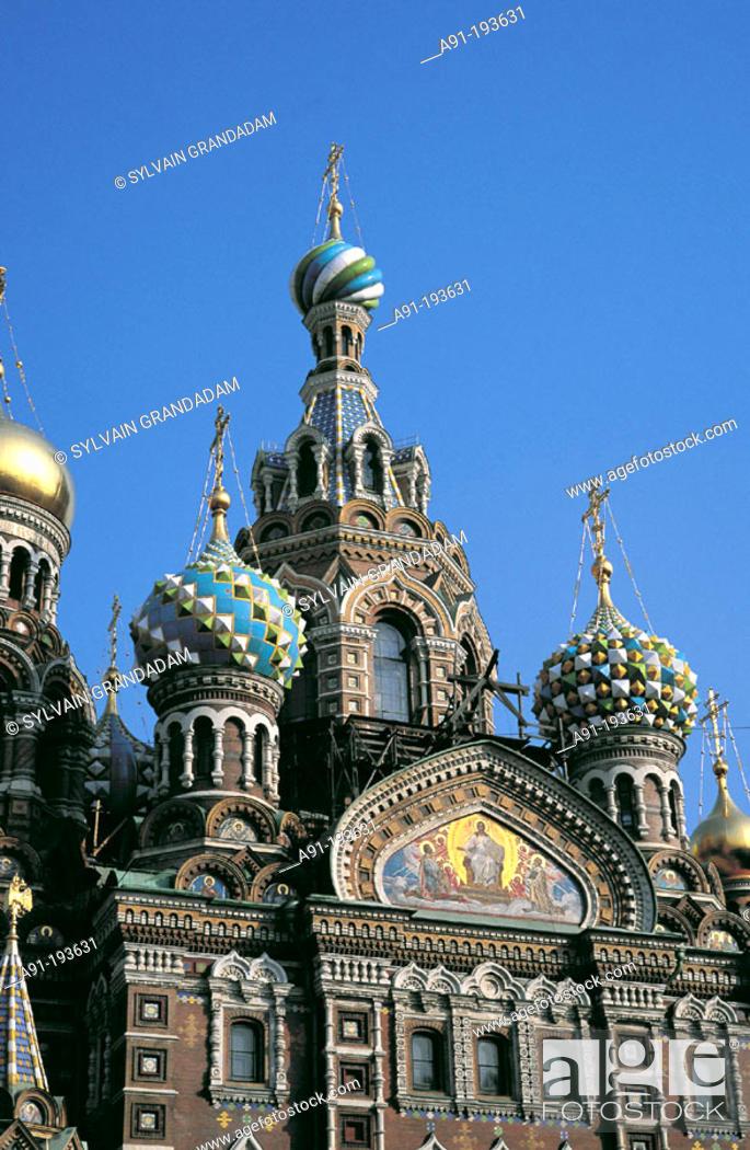 Stock Photo: Church of the Bleeding Savior. St. Petersburg. Russia.