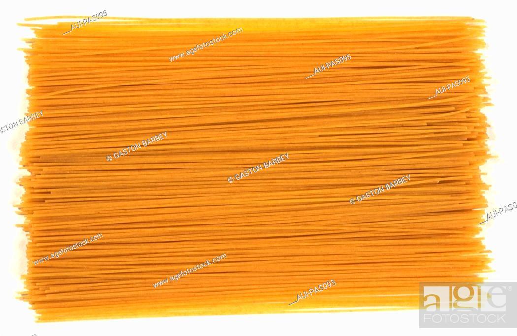 Stock Photo: Pasta - Organic Spaghetti.