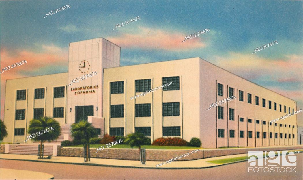 Stock Photo: The modern COFARMA Building, Barranquilla', c1940s. Artist: Unknown.