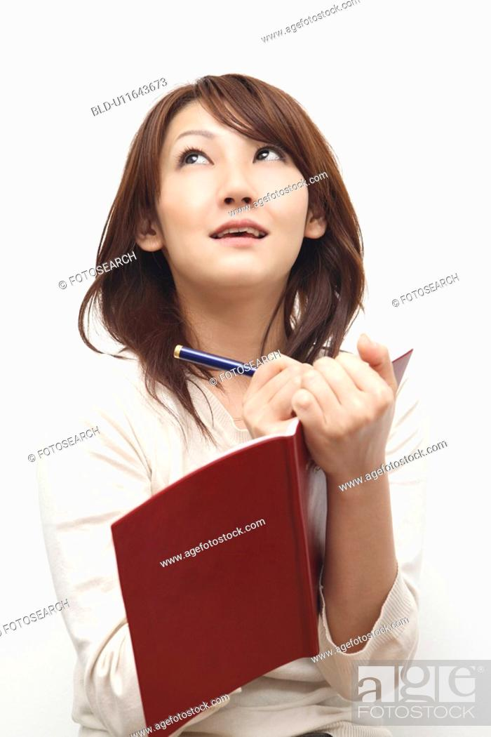 Stock Photo: Woman taking the memo.