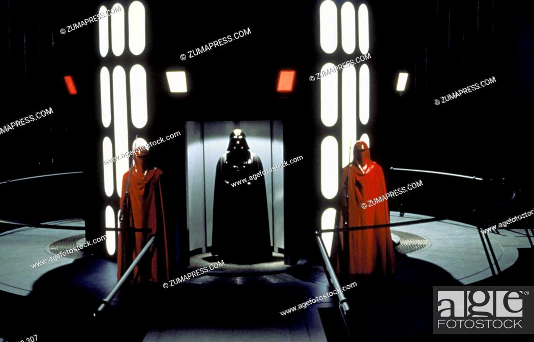 Stock Photo: RELEASE DATE: May 25, 1983 MOVIE TITLE: Star Wars: Episode VI - Return of the Jedi DIRECTOR: Richard Marquand STUDIO: Lucasfilm PLOT: Darth Vader and the Empire.