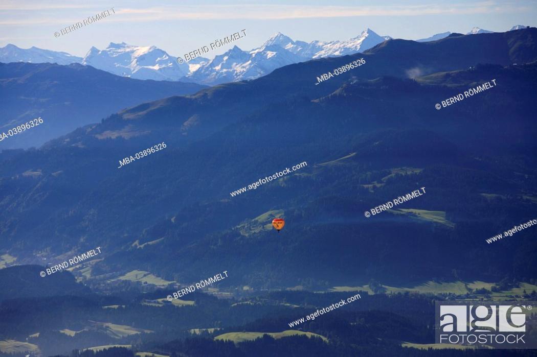 Austria Tyrol Wilder Kaiser Baumgartenkopf Mountain Panorama Hot