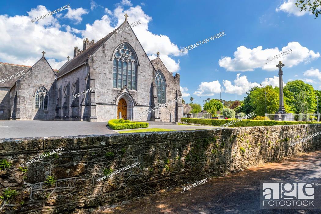 Stock Photo: Trinitarian Monastery at Adare, County Limerick, Ireland, Europe.