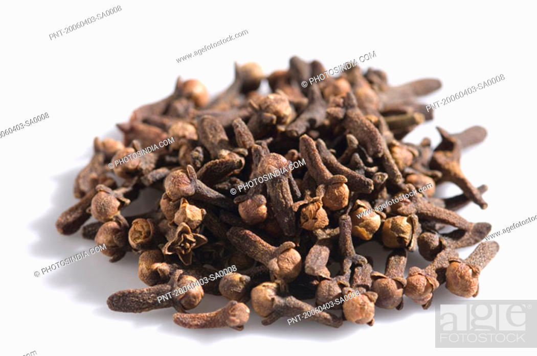 Stock Photo: Close-up of cloves.