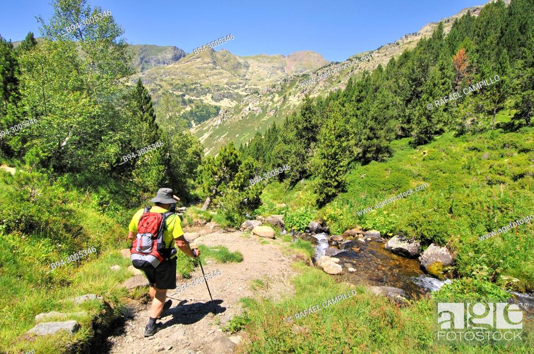 Stock Photo: Incles valley. Andorra. Europe.
