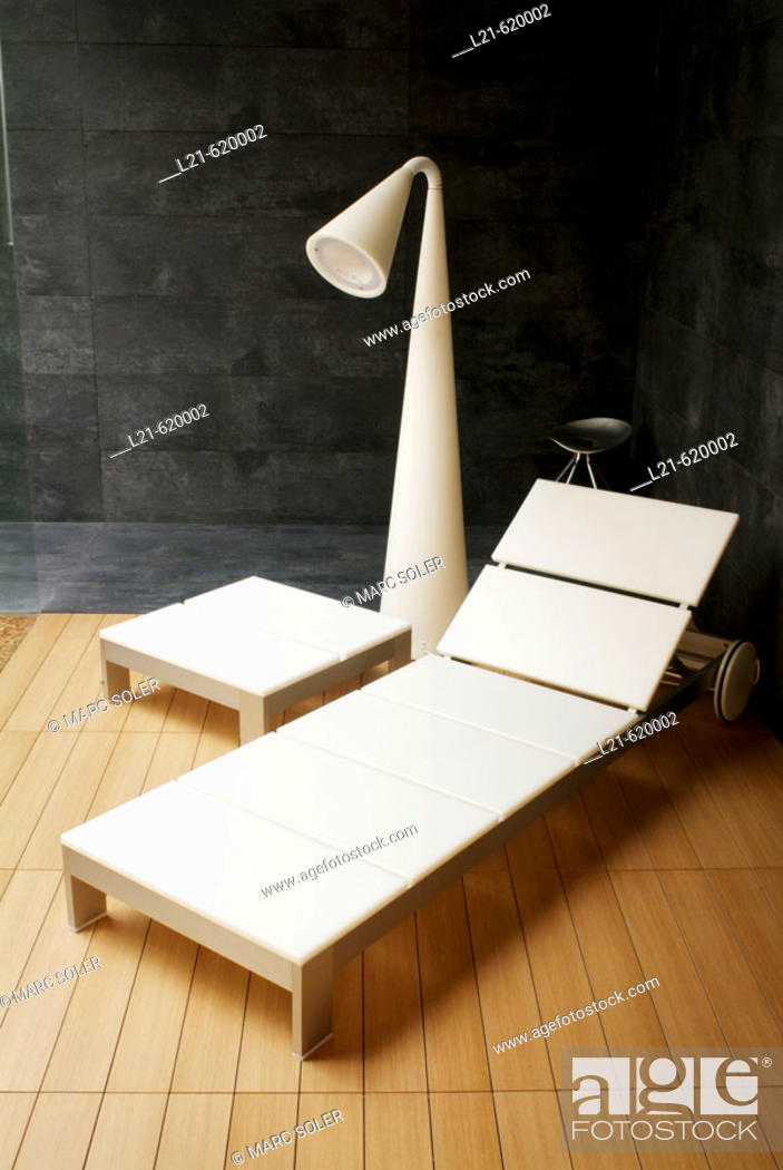 Stock Photo: Modern interior. Relax.