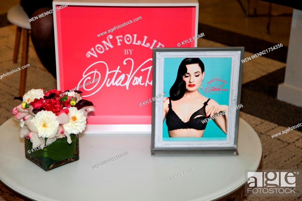 Dita Von Teese Launches Von Follies Collection At Destination Maternity In Nyc Stock Photo Picture And Rights Managed Image Pic Wen Wenn21754356 Agefotostock