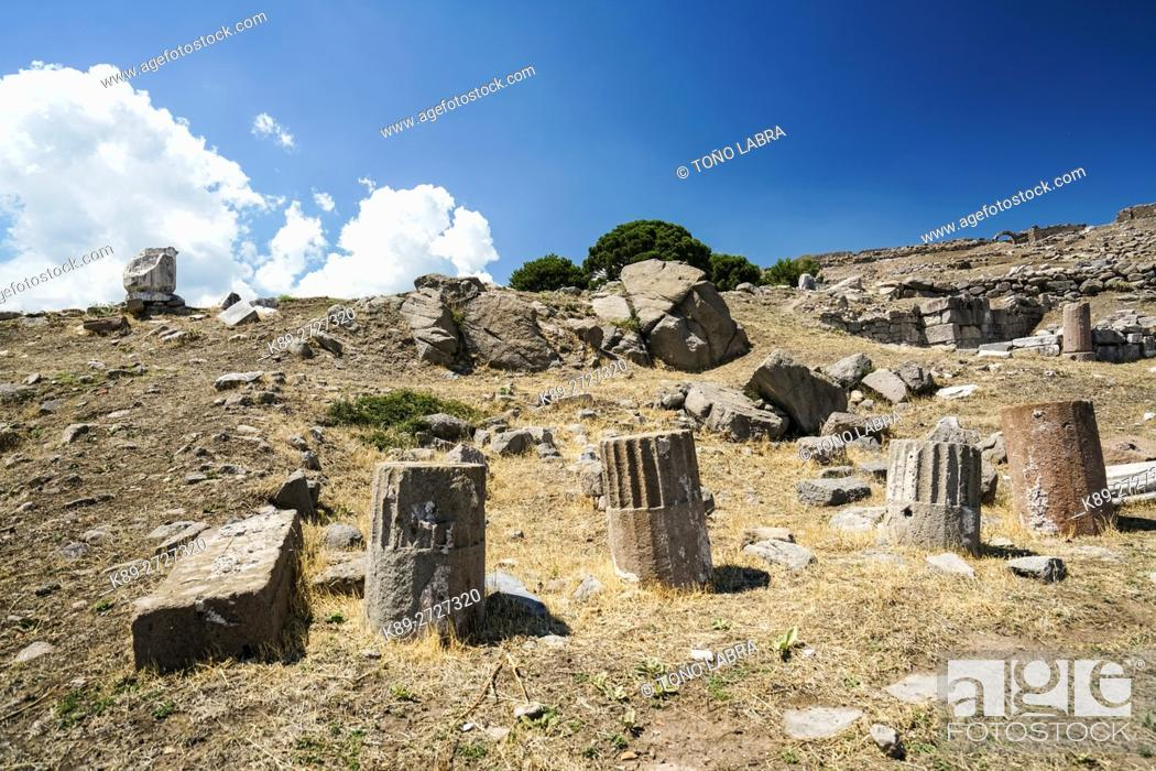 Stock Photo: Pergamon. Ancient Greece. Asia Minor. Turkey.