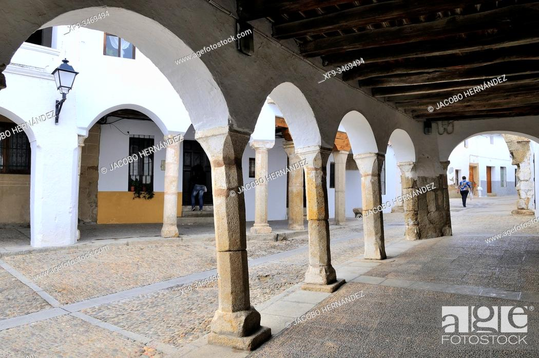Stock Photo: Garrovillas de Alconétar. Cáceres province. Extremadura. Spain.