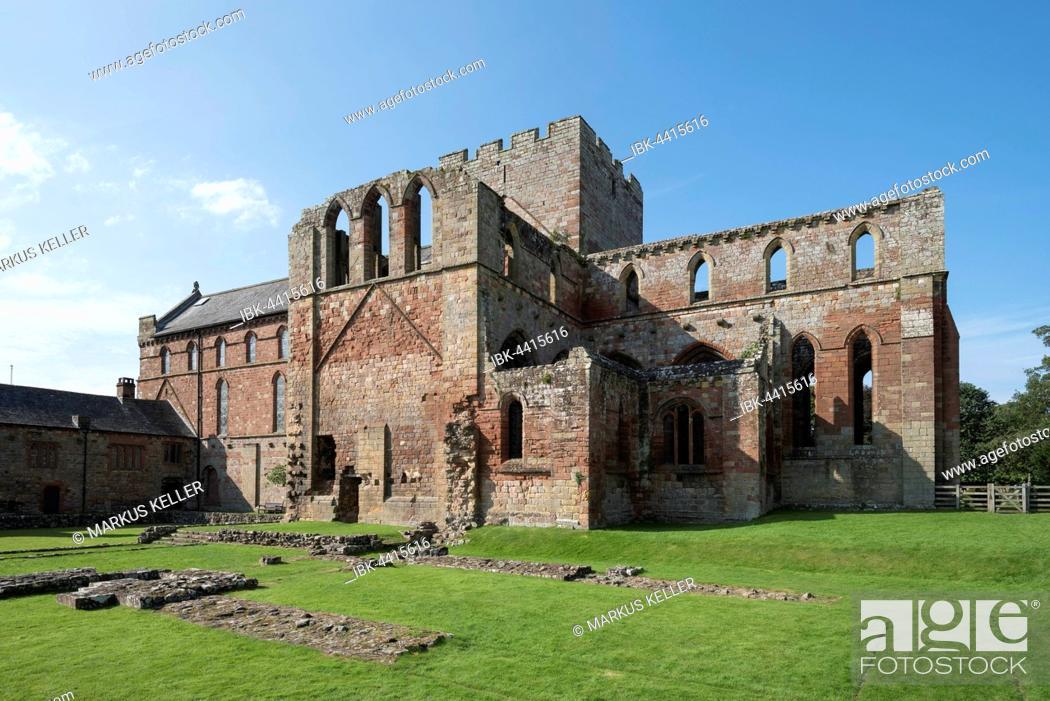 Stock Photo: Ruins of Lanercost Priory, Cumbria, England, United Kingdom.
