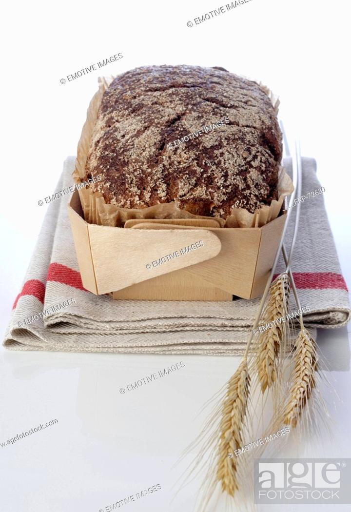 Stock Photo: Wholemeal bread.