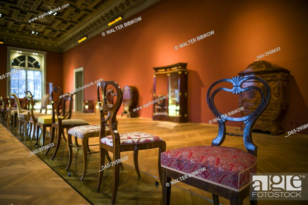 Austria Vienna Museum For Applied Arts Mak Historic Furniture Designs Stock Photo Picture And Rights Managed Image Pic D65 2958633 Agefotostock