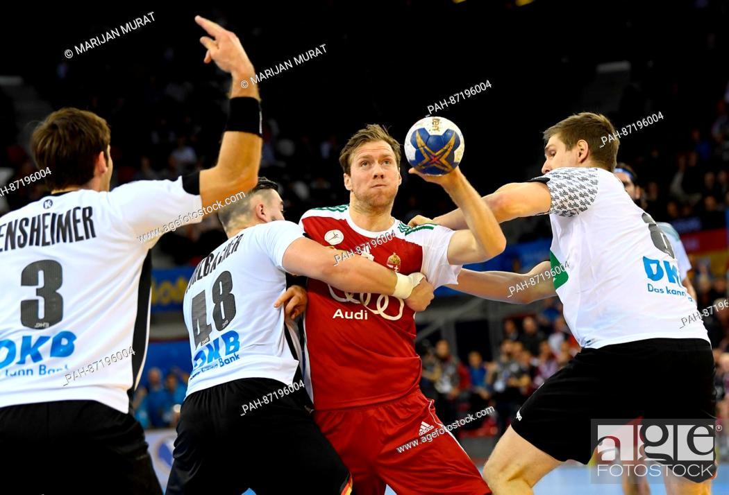 L R Germany S Uwe Gensheimer Jannik Kohlbacher And Finn